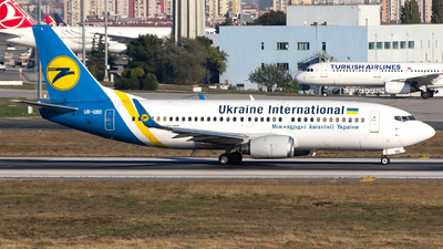 A picture of URGBD - Boeing 73736Q - Ukraine Int. Airlines - © Bora Polater