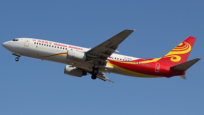 B-2647 - Boeing 737-84P - Hainan Airlines