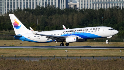 A picture of B1771 - Boeing 7378Q8 - Donghai Airlines - © dxtrx