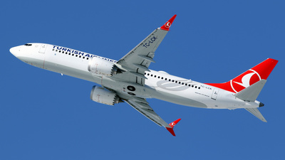 TC-LCK - Boeing 737-8 MAX - Turkish Airlines