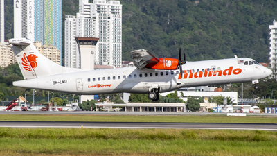 A picture of 9MLMU - ATR 72600 - Malindo Air - © Chao Aviation