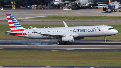 A picture of N161AA - Airbus A321231 - American Airlines - © James Bruno