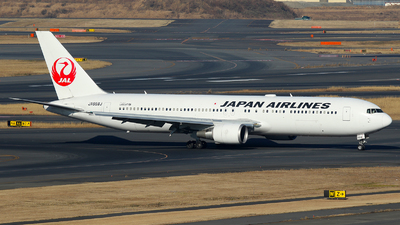 JA659J - Boeing 767-346(ER) - Japan Airlines (JAL)