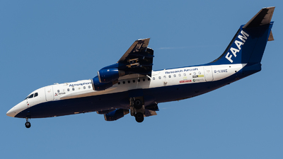 G-LUXE - British Aerospace BAe 146-300 - Facility for Atmospheric Airborne Measurements