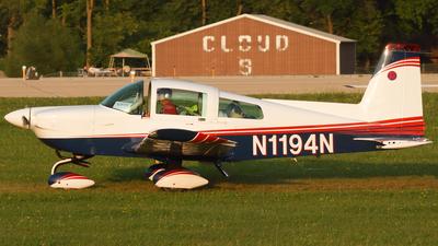 A picture of N1194N - American General AG5B - [10081] - © Connor Cummings