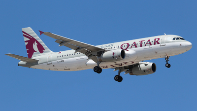 A7-ADB - Airbus A320-232 - Qatar Airways