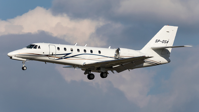 SP-OSA - Cessna 680 Citation Sovereign - Private