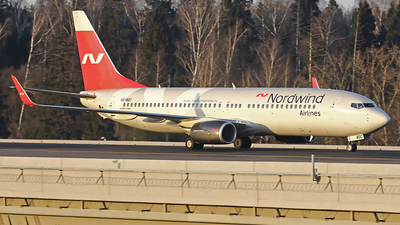 A picture of VQBDC - Boeing 7378SH - Nordwind Airlines - © Airyura