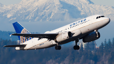 N807UA - Airbus A319-131 - United Airlines