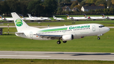 D-AGEE - Boeing 737-35B - Germania