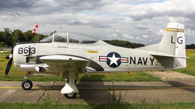 OO-LGY - North American T-28B Trojan - Private