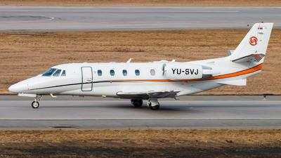 YU-SVJ - Cessna 560XL Citation XLS+ - Prince Aviation