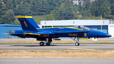 163485 - McDonnell Douglas F/A-18C Hornet - United States - US Navy (USN)