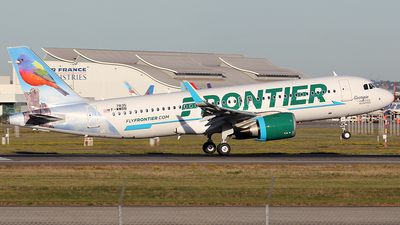 F-WWBB - Airbus A320-251N - Frontier Airlines