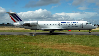F-GRJG - Bombardier CRJ-100ER - Air France (Brit Air)