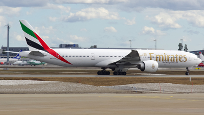 A picture of A6ECG - Boeing 77731H(ER) - Emirates - © OSL Planespotting