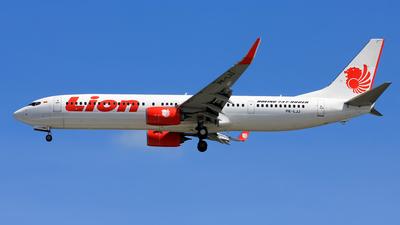 PK-LJJ - Boeing 737-9GPER - Lion Air