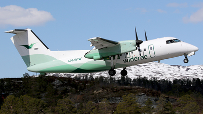 LN-WIW - Bombardier Dash 8-103 - Widerøe