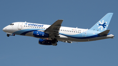 A picture of XAVER - Sukhoi Superjet 10095B - Interjet - © Juan Carlos Alvarez (MAS Aviation Press)