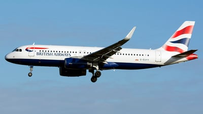 G-EUYY - Airbus A320-232 - British Airways