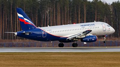 A picture of RA89102 - Sukhoi Superjet 10095B - Aeroflot - © Sots Aliaksandr