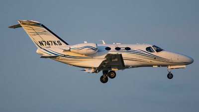 N747KS - Cessna 510 Citation Mustang - Private
