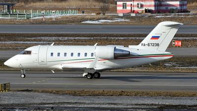 RA-67238 - Bombardier CL-600-2B16 Challenger 605 - Ak Bars Aero