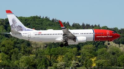 EI-GBG - Boeing 737-8JP - Norwegian