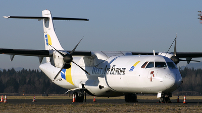LX-WAB - ATR 72-201(F) - West Air Europe
