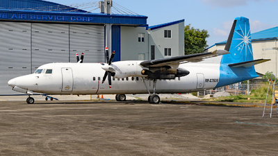 RP-C7636 - Fokker 50 - Leading Edge Air Services