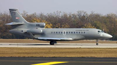 606 - Dassault Falcon 7X - Hungary - Air Force