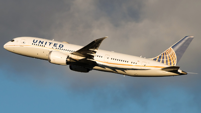 A picture of N29907 - Boeing 7878 Dreamliner - United Airlines - © Gautham Kurup