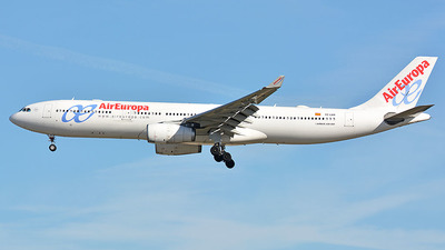 EC-LXR - Airbus A330-343 - Air Europa