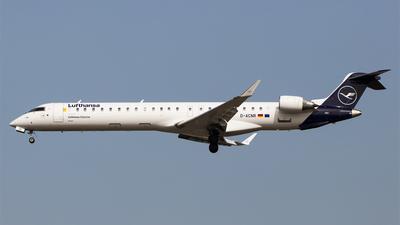 A picture of DACNR - Mitsubishi CRJ900LR - Lufthansa - © Melanie Niedermeier