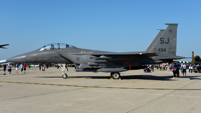 89-0484 - McDonnell Douglas F-15E Strike Eagle - United States - US Air Force (USAF)