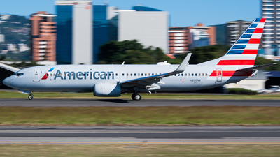 A picture of N800NN - Boeing 737823 - American Airlines - © Kevin Andrés Gomez Hidalgo