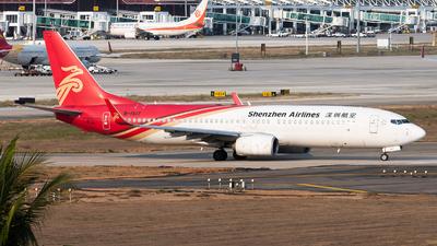 B-1517 - Boeing 737-87L - Shenzhen Airlines