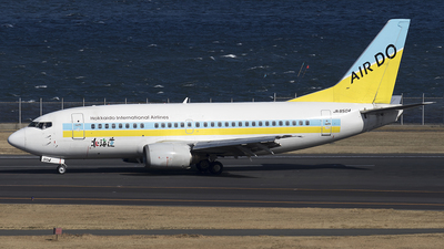 JA8504 - Boeing 737-54K - Air Do (Hokkaido International Airlines)
