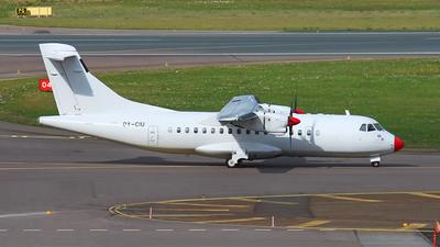 A picture of OYCIU - ATR 42312 - Danish Air Transport - © Diogo Guimaraes