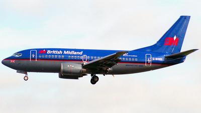 G-BVKD - Boeing 737-59D - British Midland