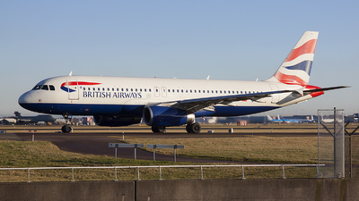G-MIDO - Airbus A320-232 - British Airways