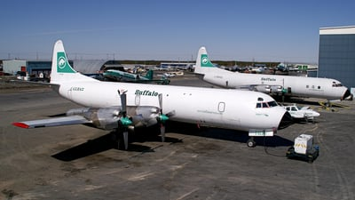 C-GLBA - Lockheed L-188A(F) Electra - Buffalo Airways