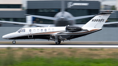 N989RS - Cessna 525 Citationjet CJ3 - Private