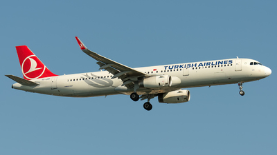 TC-JSH - Airbus A321-231 - Turkish Airlines