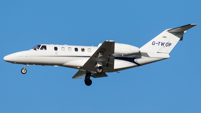 G-TWOP - Cessna 525A CitationJet 2 Plus - Centreline Air Charter