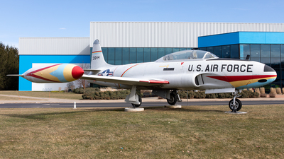 54-1544 - Lockheed T-33A Shooting Star - United States - US Air Force (USAF)