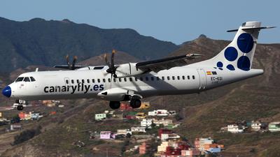 A picture of ECKGI - ATR 72500 - CanaryFly - © J.M.Carballo