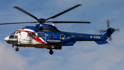 G-ZZSA - Eurocopter EC 225LP Super Puma II+ - Bristow Helicopters