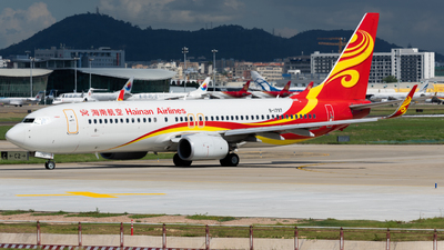 A picture of B1797 - Boeing 73784P - Hainan Airlines - © MICHAELWang