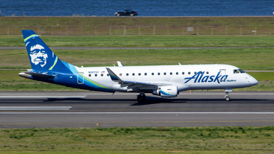 A picture of N197SY - Embraer E175LR - Alaska Airlines - © nk_pdx